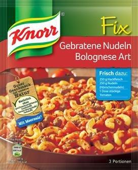 m-din Knorr Fix Bolognese Art włoskie danie na patelni
