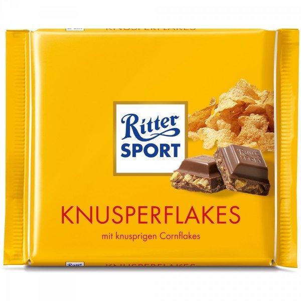 Ritter Sport Knusperflakes czekolada z Chrupkami 100