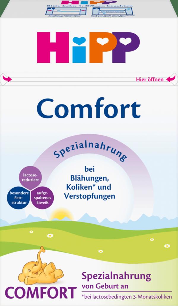 hipp-mleko-na-kolkik-wzdęcia-zaparcia-comfort