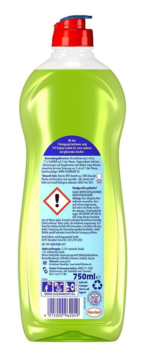 Pril Limette płyn do mycia naczyń Limonka 750