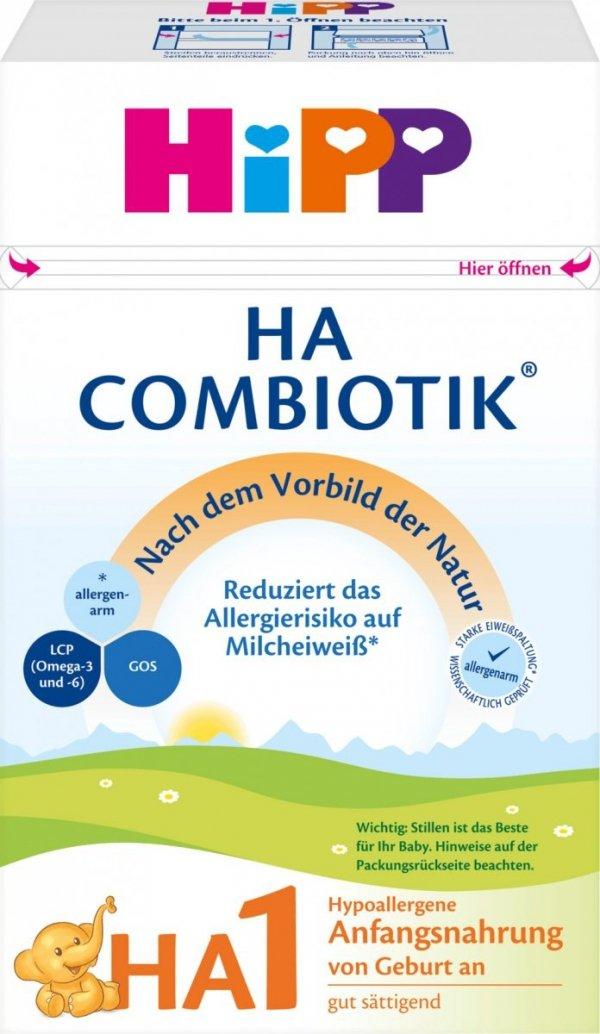 hipp-ha1-combiotik-500g-mleko-początkowe-od-urodzenia-niemieckie