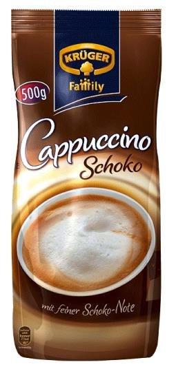 Kruger Cappuccino Czekoladowe z nutą czekolady 500