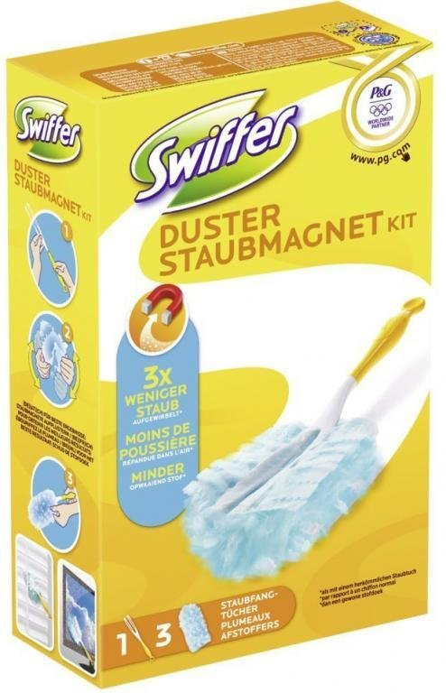 Swiffer Zapas Wkład + Miotełk widelec do kurzu 1+3
