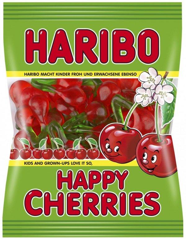 Haribo Żelki Happy Cherries smak czereśnie 200gr FV