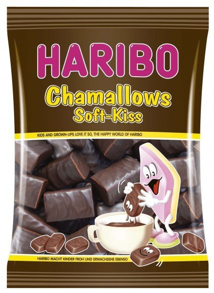 Haribo Pianki Czekoladowe MARSHMALLOW Kiss