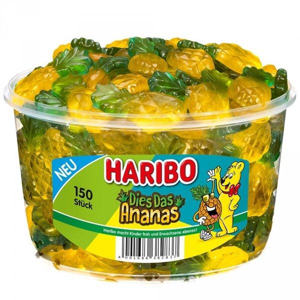 Haribo-Dies-Das-Ananas-150er-żelki-smak-ananasów
