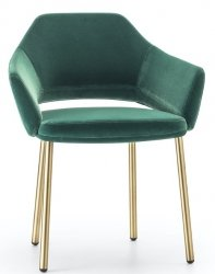 VIC 646 tapicerowany fotel Pedrali