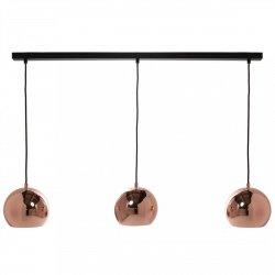 Lampa wisząca BALL TRACK Frandsen miedź