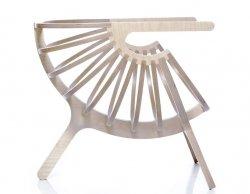 SHELL designerski fotel Branca Lisboa