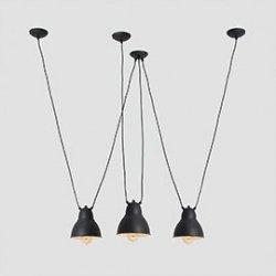 Lampa wisząca COBEN HANGMAN FIX 3 – czarny