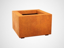 Donica metalowa - Corten BAJO 1 450x450x300