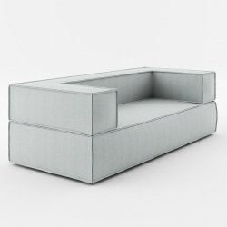Sofa 200x90x67 Noi Basic Absynth