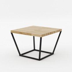 Stolik kawowy dębowy 60x68x45 cm Noi Absynth