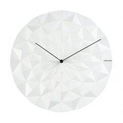 Zegar Facet Biały Karlsson