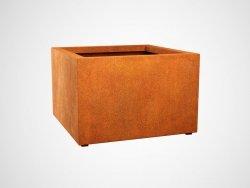 Donica metalowa - Corten BAJO 8 900x900x600