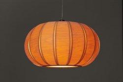 Tangerine 50 klimatyczna lampa drewniana Woolights
