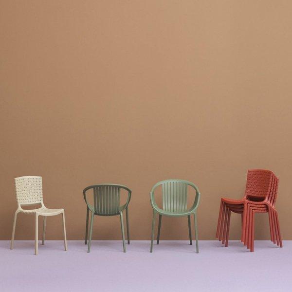 Krzesła do nowoczesnych wnętrz Pedrali Tatami 306