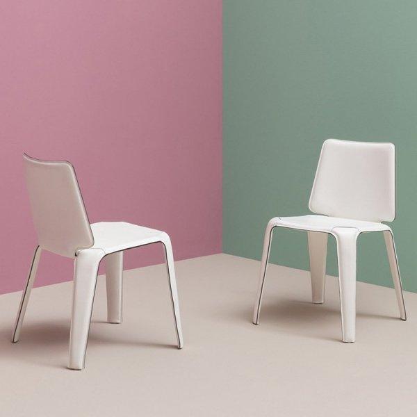 Nowoczesne krzesła tapicerowane Pedrali