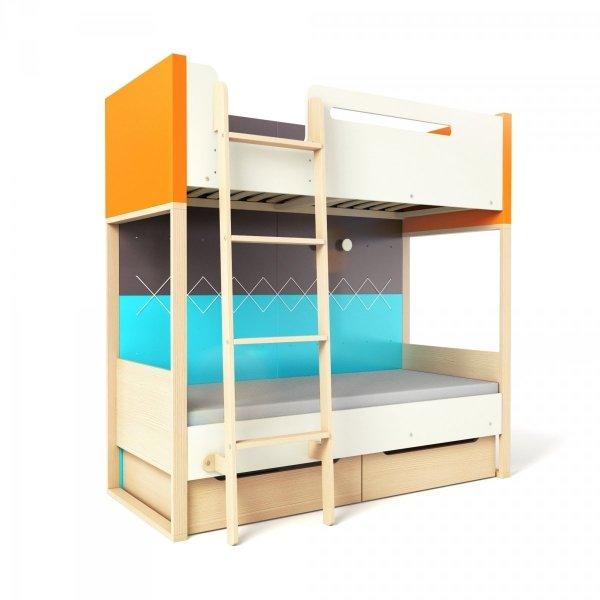 Łóżko piętrowe Loft z serii PlusTimoore