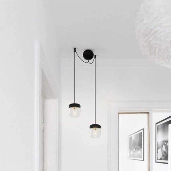 Stylowe podwójne zawieszenie do lamp Vita Copenhagen