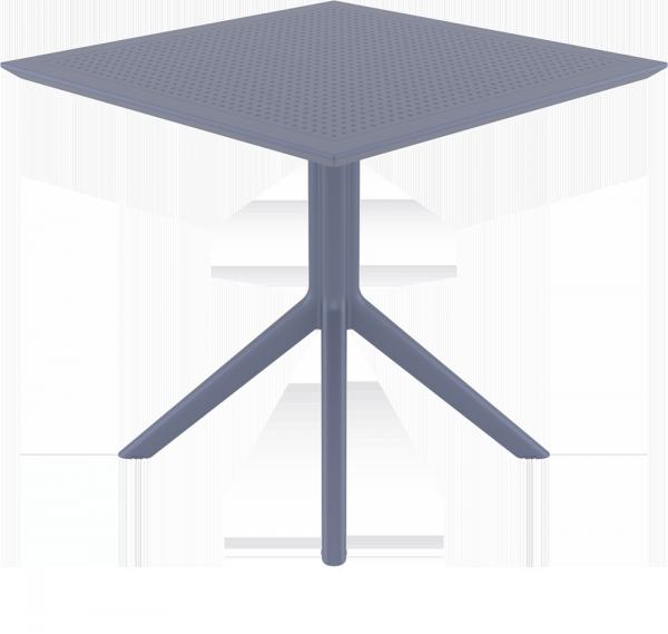 Stolik SKY Table 80 szary