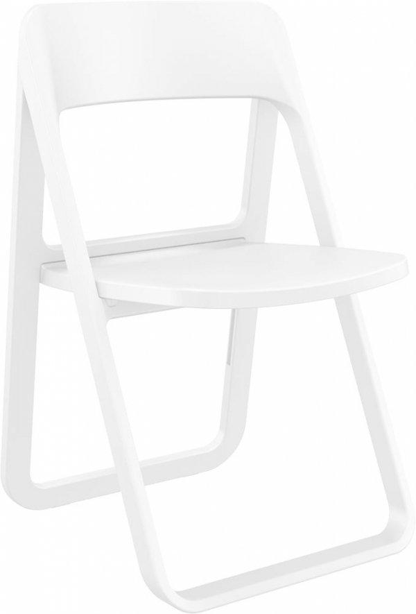 składane krzesło Dream Siesta białe