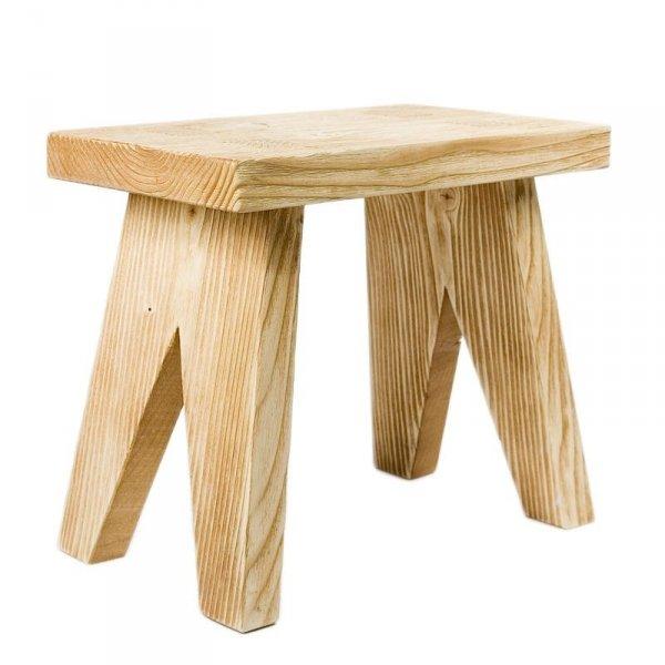 Drewniany taboret 90 Gie El