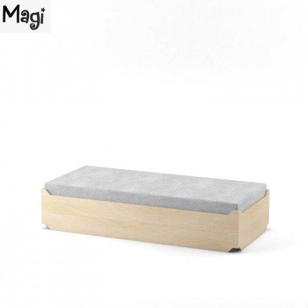 Łóżko młodzieżowe w stylu skandynawskim Magi Tapczanik - łóżko w łóżku