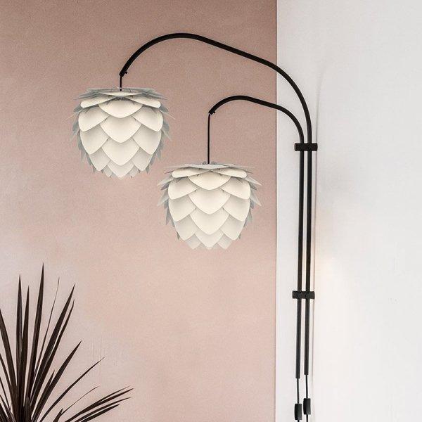 Stylowa lampa ścienna podwójna Willow Double
