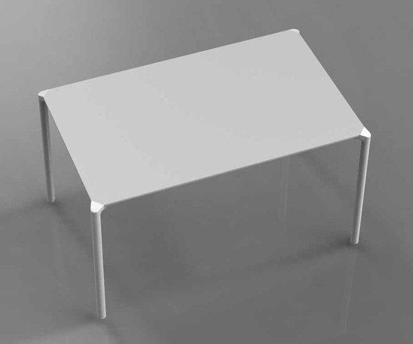 Stół Jump Biały Pedrali