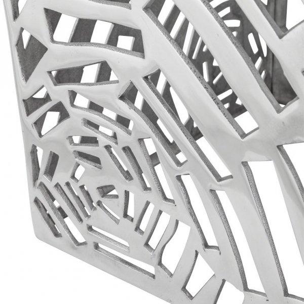 Tribal aluminiowy stolik dekoracyjny