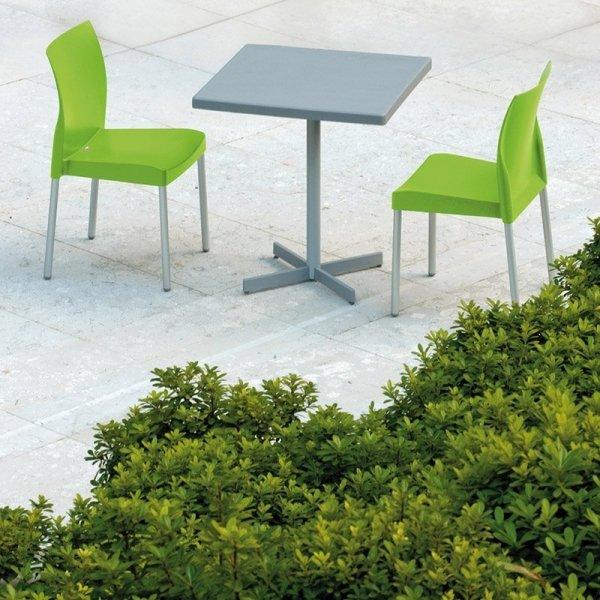 Ice 800 Krzesło Kość Słoniowa Pedrali