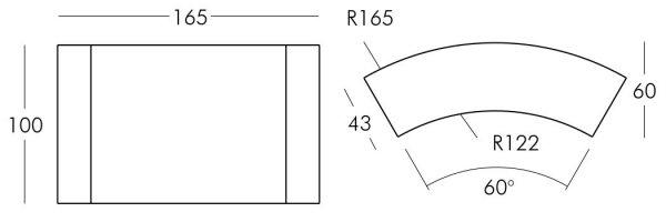 Snack Bar to modułowy bar z wbudowanym oświetleniem do użytkowania wewnątrz jak i na zewnątrz