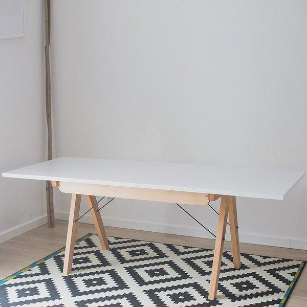 Stół rozkładany Minko Basic, sprawi, że pomieścisz całą rodzinę