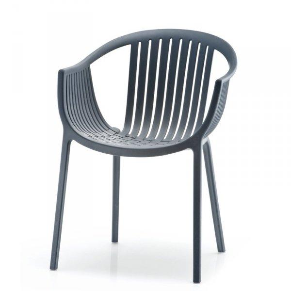 Tatami 306 grafitowe krzesło marki Pedrali