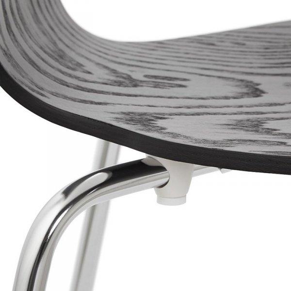 Perry krzesło czarne