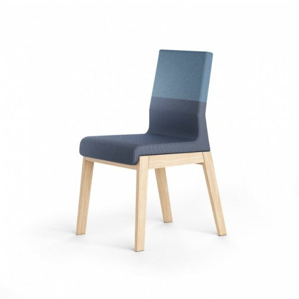 Szeroka paleta kolorystyczna tkanin sprawia, że krzesło KYLA doskonale zafunkcjonuje w każdym rodzaju pomieszczeń, niezależnie od zastosowanej wewnątrz stylistyki.