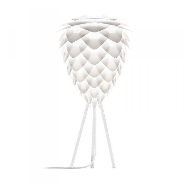 Abażur Conia Mini może być stosowany z podstawą do lampek stołowych