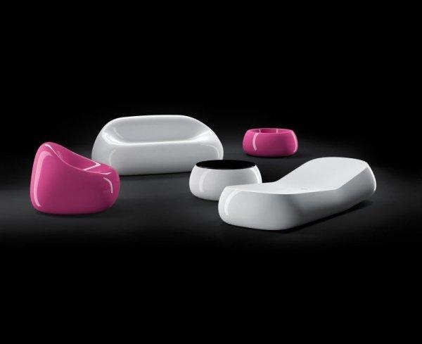 GUMBALL swietnie wygląda w połączeniu z innymi produktami GUMBALL - fotelami, leżakami