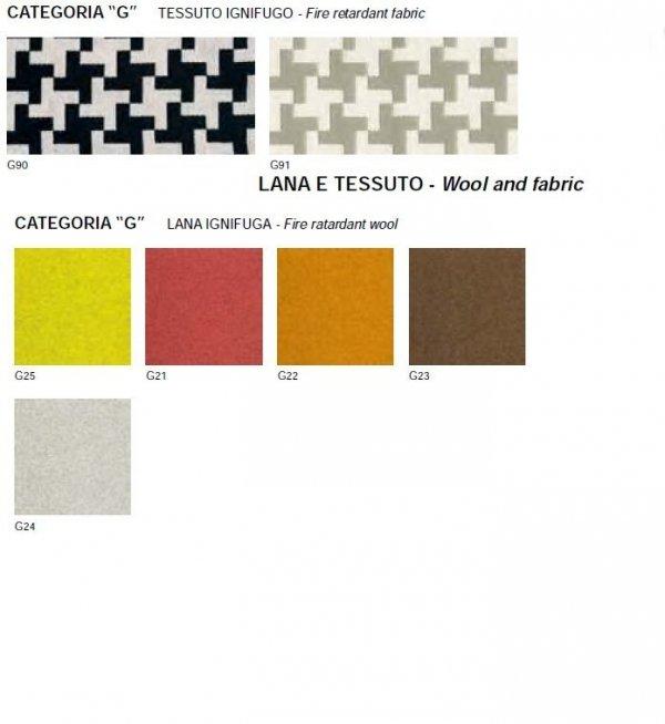 Krzesło Pedrali Blitz 640.3 poduszka tkaniny G