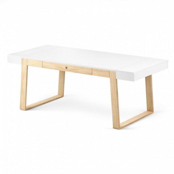 Stół Magh kolor biały, wymiary 100cm x 200cm