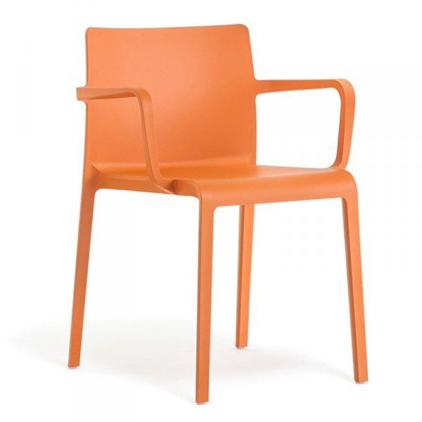 Nowoczesne krzesła z tworzywa Pedrali