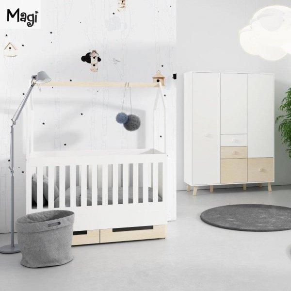 Kolekcja mebli dziecięcych w stylu skandynawskim