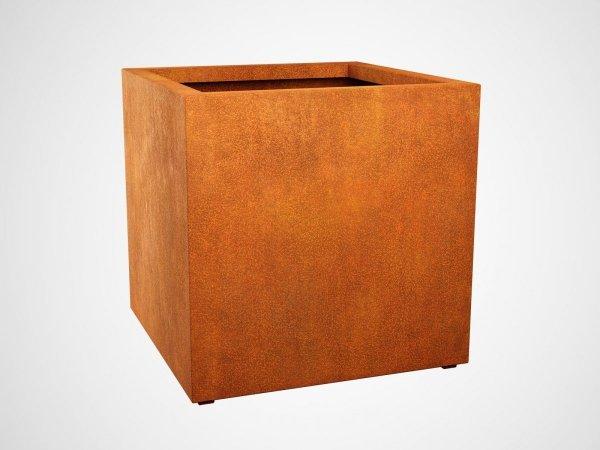 Donica w kształcie sześcianu o wymiarach 900mm x 900mm x 900mm