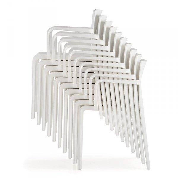 Lekkie, stylowe krzesła Volt 675 Pedrali