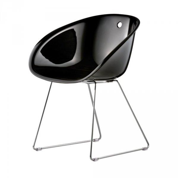 Gliss 921 Krzesło Pedrali czarne