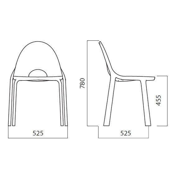 Krzesło Drop Infiniti