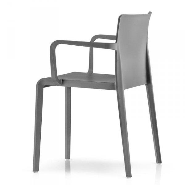 Stylowe krzesło do jadalni z tworzywa edrali Volt 675