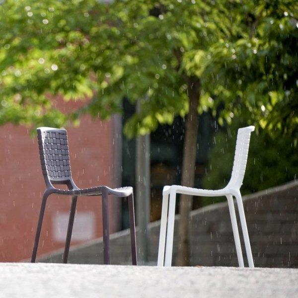 Tatami 305 Krzesło Pedrali Grafitowe