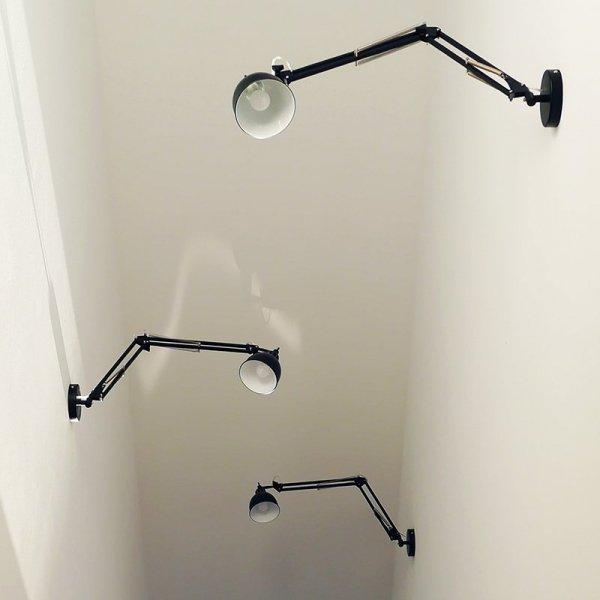 Lampy Job Wall będą idealnym oświetleniem nowoczesnych wnętrz